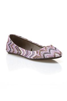 Blue Suede Shoes Milano-2 Flat In Purple