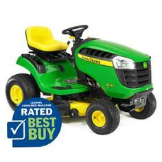 John Deere�D110 19.5 HP Hydrostatic 42-in Riding Lawn Mower with Briggs & Stratton Engine