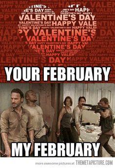 Your February vs. My February…