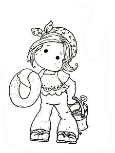Tilda's Summer Coloring Page - Bing Images