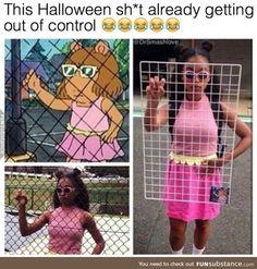 The Funniest Memes worldwide for Birthdays, School, Cats, and Dank Memes. Hallowen Costume, Halloween Cosplay, Halloween Outfits, Diy Costumes, Halloween Diy, Cosplay Costumes, Cartoon Costumes, Arthur Halloween Costume, Arthur Costume