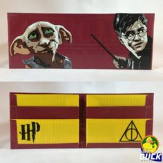 Harry Potter Duck Tape Wallet. It's not so much the wallet as the effort it took to make Harry and Dobby that impresses me