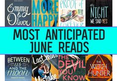 June is the greatest month of all because school is out, the weather isn't scorching your face off yet and of course, there are tons of new YA book releases!