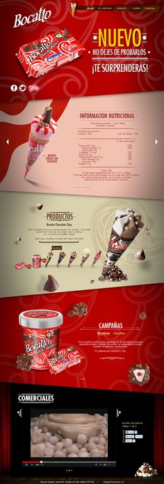 Bocatto by Bonnit Rodríguez, via Behance