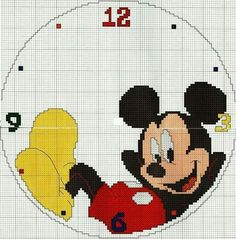 Thrilling Designing Your Own Cross Stitch Embroidery Patterns Ideas. Exhilarating Designing Your Own Cross Stitch Embroidery Patterns Ideas. Cross Stitching, Cross Stitch Embroidery, Embroidery Patterns, Mickey Mouse Art, Mickey Mouse And Friends, Disney Stitch, Cross Stitch For Kids, Cross Stitch Baby, C2c