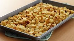 Add a homemade touch to your favorite salads when you make your own croutons in two easy steps.
