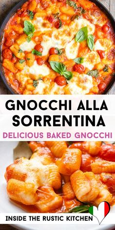 Italian Stew, Italian Meals, Italian Dinner Recipes, Italian Risotto Recipe, Risotto Recipes, Pasta Dishes, Food Dishes, Easy College Meals, Baked Gnocchi