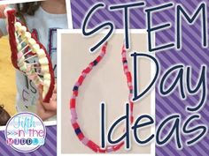 Two Fun STEM Day Activities {Monday Made It}