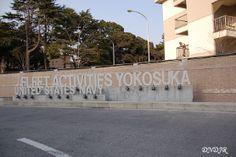 CFAY Main GateSign Yokosuka NB