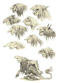 Trolly sketches by eoghankerrigan.deviantart.com on @DeviantArt