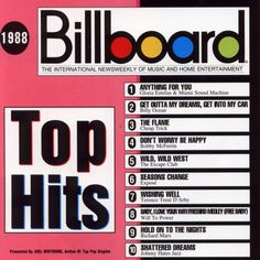 billboard top hits 1988 | Billboard Top Hits 1988, Various Artists - Pop Rock: Compilations ...