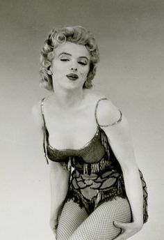 """Marilyn in publicity for """"Bus Stop"""". Photo by Milton Greene, 1956."""