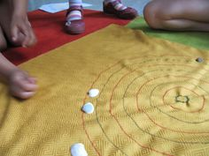 African Board Game For Children