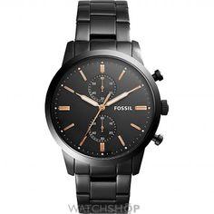 Mens Fossil Townsman Chronograph Watch FS5379