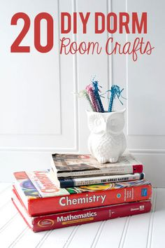 20 DIY Dorm Room Ide