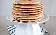 Amerikanske pannekaker - Kvardagsmat Pancakes, Breakfast, Food, Morning Coffee, Essen, Pancake, Meals, Yemek, Eten
