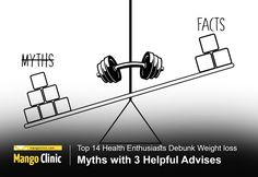 Top 14 Health Enthusiasts Debunk Weight loss Myths with 3 Helpful Advises Weight Loss Plans, Weight Gain, Calorie Deficit, Nutrition Articles, Body Composition, Hormone Balancing, How To Eat Less, Physical Activities, Lose Fat