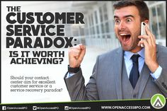 Should you #CallCenter aim to achieve #ServiceRecoveryParadox to boost #CustomerSatisfaction?