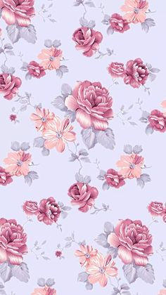 Imagen de background, flowers, and wallpaper vintage floral wallpapers, vintage phones, phone Pink Wallpaper Iphone Light, Cellphone Wallpaper, Flower Wallpaper, Mobile Wallpaper, Pattern Wallpaper, Screen Wallpaper, Flower Backgrounds, Wallpaper Backgrounds, Iphone Hintegründe