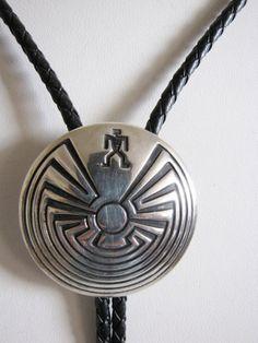 2ccd89e434f9 Man In The Maze - Sterling Silver Bolo Tie -Native American Bolo-Mens  Accessories-Western Bolo-Mens Jewelry-Father Gift-Gift For Him Or You