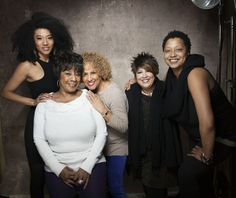 From left, singers Judith Hill, Merry Clayton, Darlene Love, Tata Vega and Lisa Fischer from the film 20 Feet from Stardom at the 2013 Sundance Film Festival in Park City, Utah. (Victoria Will/Invision/AP)