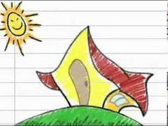 Dia da Poesia Livrinho com a poesia Quem Mora de Maria Mazetti para ilustrar | Ideia Criativa - Gi Barbosa Educação Infantil