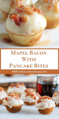 Mapel Bacon With Pancake Bites