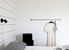 LOVE THIS IDEA: large towel rack from IKEA to hang or display pretty dresses/objects