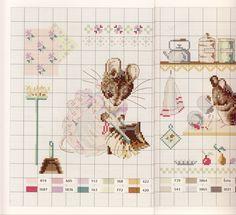 Gallery.ru / Фото #18 - Veronique Enginger. Le monde de Beatrix Potter - CrossStich