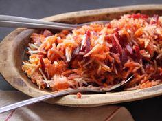 Shredded Beet and Carrot Salad recipe from Nancy Fuller via Food Network
