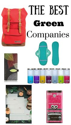 The best eco-friendly Canadian companies. I love supporting sustainable companies like these.