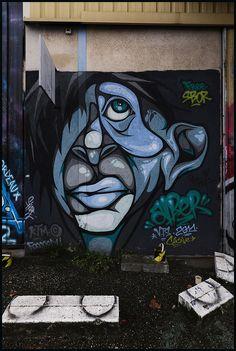 Street art | Mural by Alber