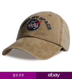 13a7a772f5445 Fashion Heren I Need My Space Baseball Cap Merk NASA-BUY