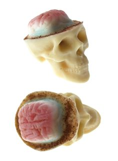 Chocolate Skulls Gone Nuts by sparganum on Etsy, €6.00