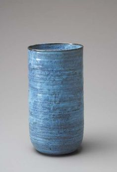 "LUCIE RIE, 1901-1995 Rare ""Vienna Period"" vase, ca. 1935. Sold for $35,000."