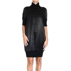 ICEBERG KNITTED DRESS TURTLENECK SHORT SLEEVE Price: $279.65 Shop @ Giglio.com