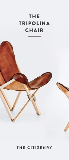 This butterfly chair from The Citizenry is simply perfect. Made of thick Argentinian vegetable-tanned polo saddle leather, this chair just gets better with age. Plus, it has a foldable guindo wood frame, so it's made for taking along on adventures. Trust me, you need this statement-making piece in your home! #ad