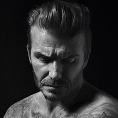 David Beckham (1975) - retired English footballer. Photo © Mario Sorrenti