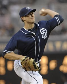SAN DIEGO, CA - APRIL Cory Luebke of the San Diego Padres pitches during the fifth inning of a baseball game against the Philadelphia Phillies at Petco Park on April 2012 in San Diego, California. The Padres won (Photo by Denis Poroy/Getty Images) Kevin Brown, San Diego Padres, April 21, World Of Sports, National League, Baseball Games, Pro Cycling, Philadelphia Phillies, Sports News