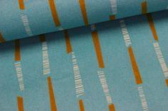 Stoff - Bambus - Kira - Hellblau - Baumwolle auf alles-fuer-selbermacher.de
