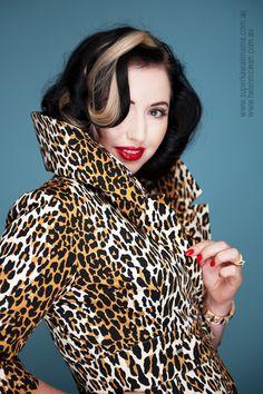 Courtney Coat Dress in Leopard, as worn by Candice DeVille #trashydivacourtneycoatdress #trashydivaleopard