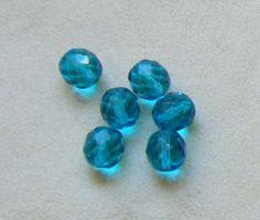 ,,OFFERTA,, lotto  30  perline in mezzo cristallo  azzurro   da 10 mm., by crys e cry, 1,44 € su misshobby.com