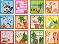 Ideenreise: Kleine Kärtchen für die Sommerferien (Gastmaterial...
