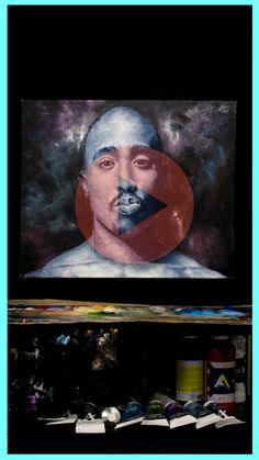 See this amazing painting being created from start to finish. You wont want to miss this!! Tupac Shakur, 2pac, Original Art, Portrait, Videos, Amazing, Music, Artwork, Youtube