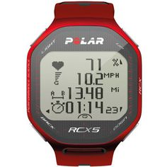 polar heart rate monitor... The best!
