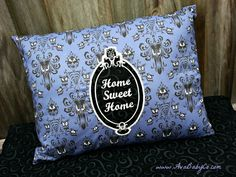 Disney Haunted Mansion Inspired Throw Pillow Glows in by AvaBabyCo