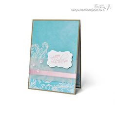 DIY this must be love card with simple video tutorial