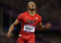 Aries Merritt wins gold in the men's 110-meter hurdles Olympics 2012