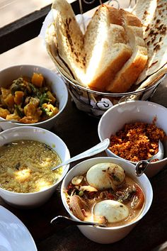 A Sri Lankan Breakfast