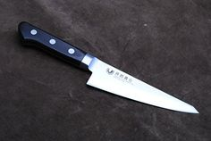 Yoshihiro Ginsan-Ko High Carbon Stain Resistant Steel Western Style Honesuki Japanese Poultry Boning Knife (Hand-crafted pakkawood handle) - http://kitchenrecipe.org/product/yoshihiro-ginsan-ko-high-carbon-stain-resistant-steel-western-style-honesuki-japanese-poultry-boning-knife-hand-crafted-pakkawood-handle/